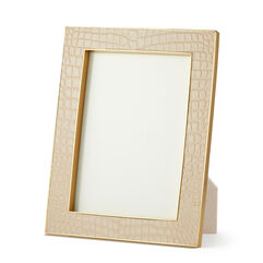 Classic Croc Leather 5x7 Frame