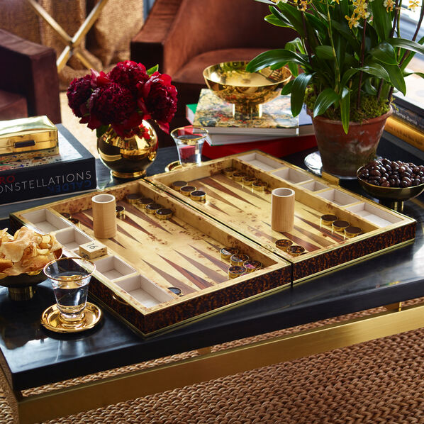 Tortoise Backgammon Set