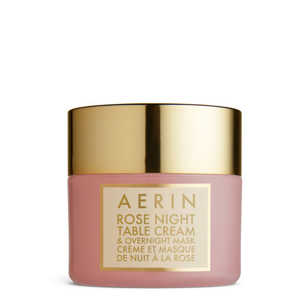 Rose Night Table Cream  Overnight Mask