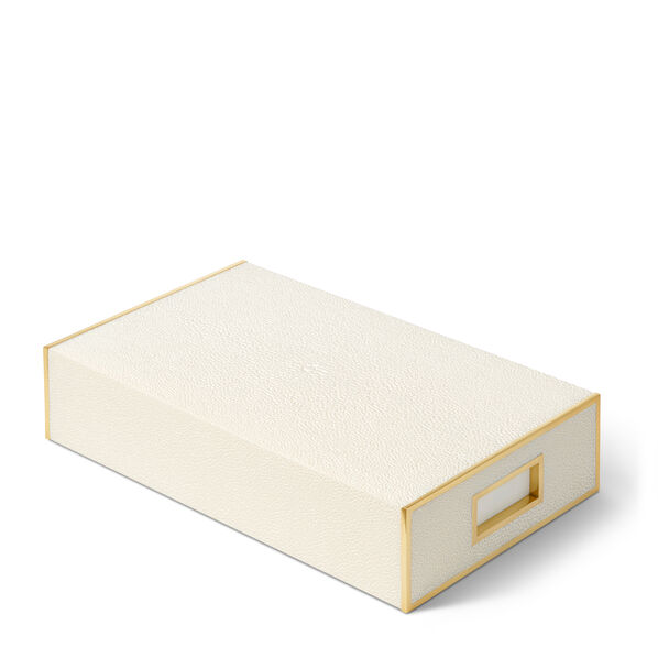 Shagreen Oversized Match Box