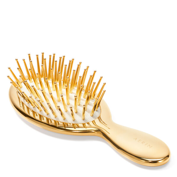 Travel Gold Hairbrush