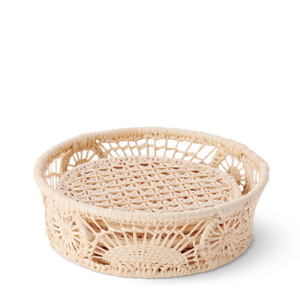 Wicker Coaster, Set of 6