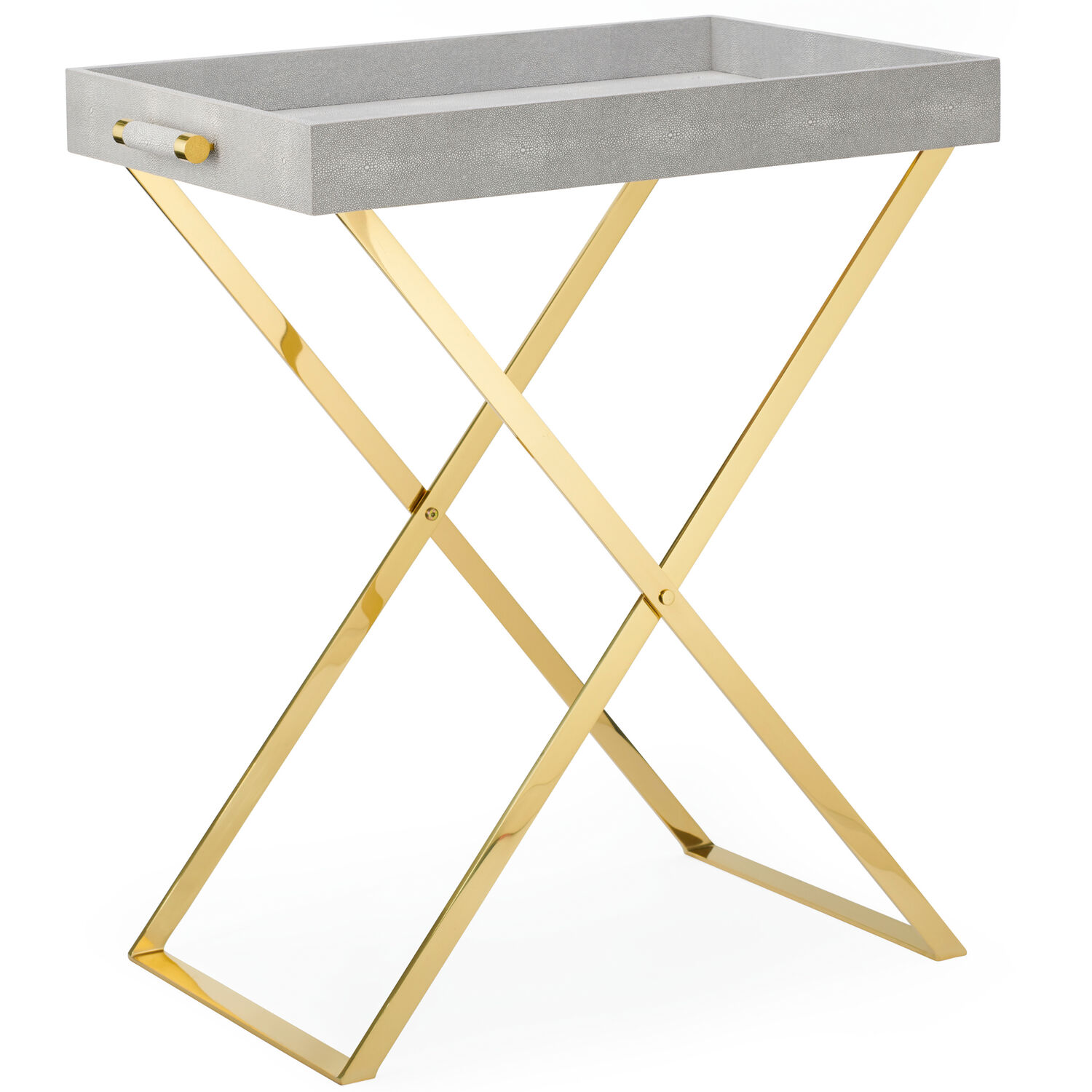 Brass Butler Tray Stand