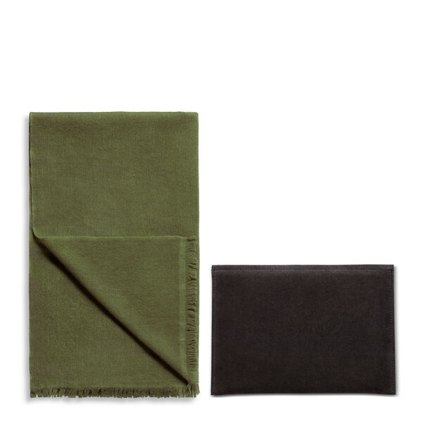 Luxe Scarf & Pouch Set