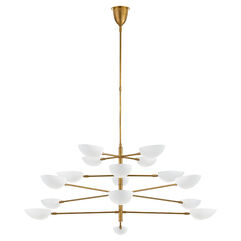 Graphic Grande Four-Tier Chandelier