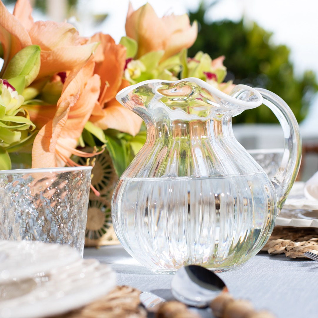 The Carlotta Pitcher is perfect for summer entertaining