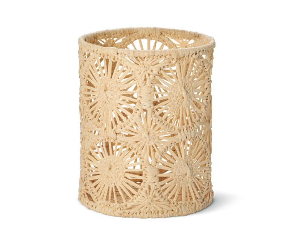 AERIN Wicker Candle Sleeve