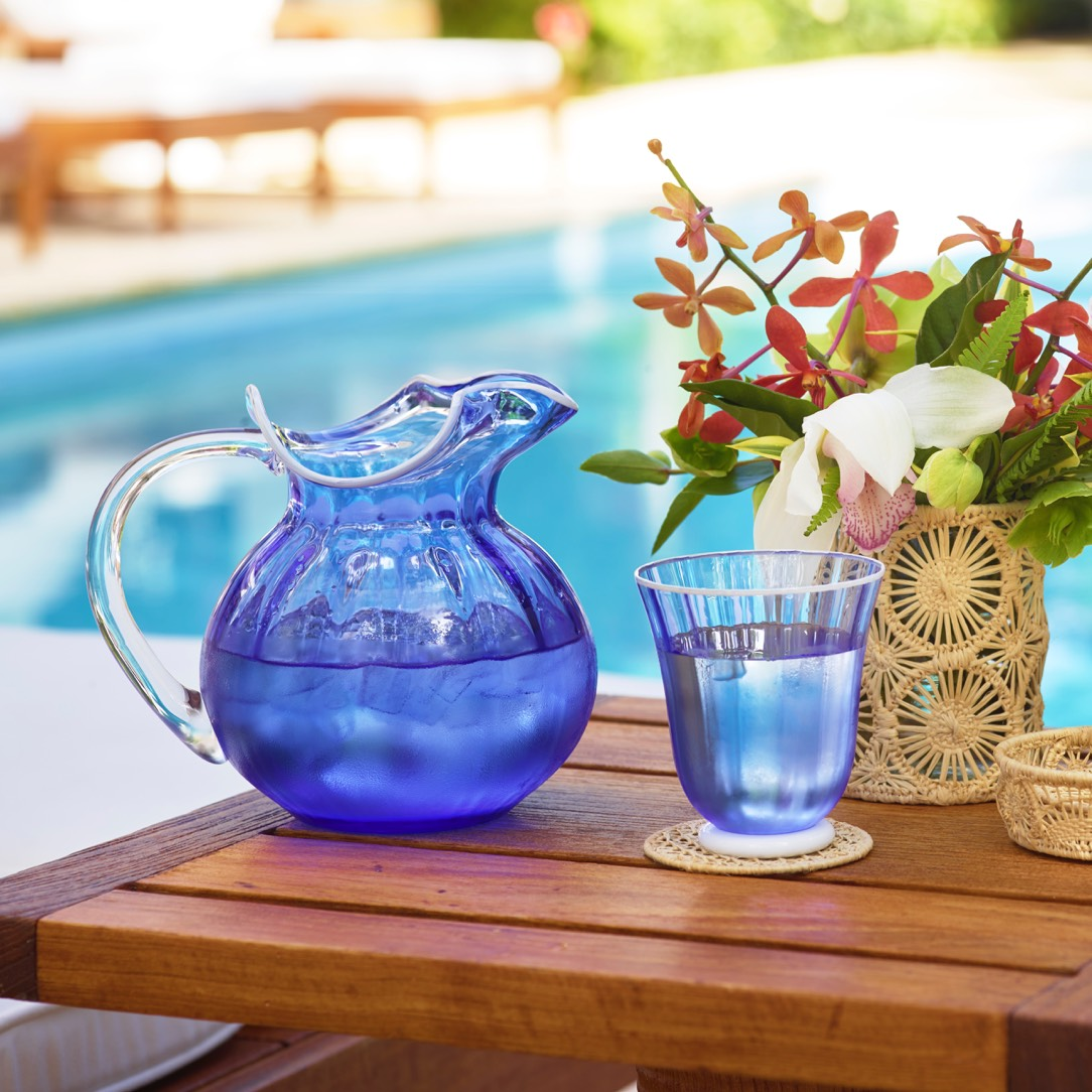 New AERIN Carlotta Tumbler and Pitcher