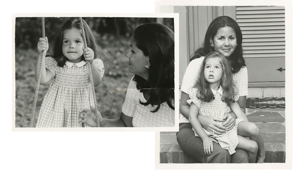 Aerin Lauder and her mother