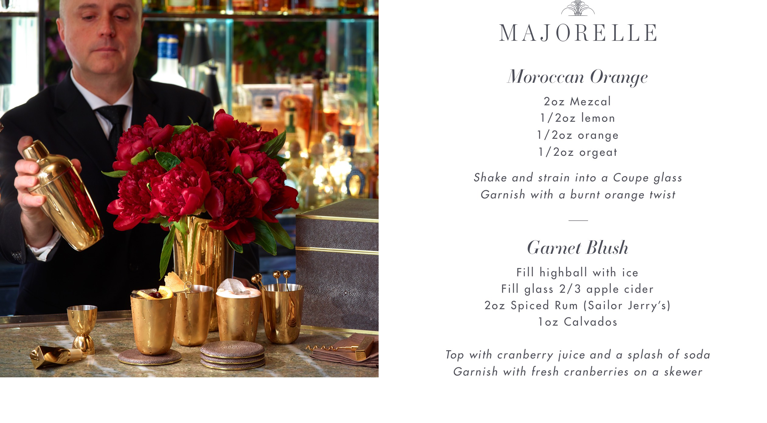 Majorelle Cocktail Recipe