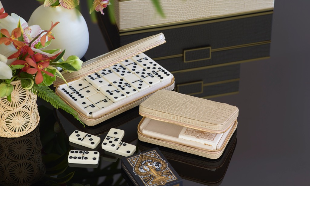 Enzo Travel Card Set and Enzo Travel Domino Set